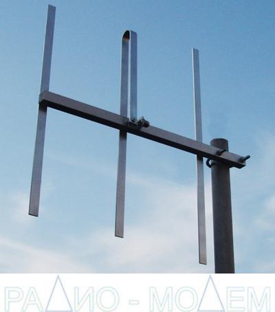 Базовая антенна МР-ВК3-UHF для радиоохранных систем  и радиомодемов 433 МГц