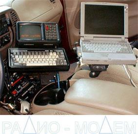 Патрульный автомобиль торговой инспекции оснащен терминалом