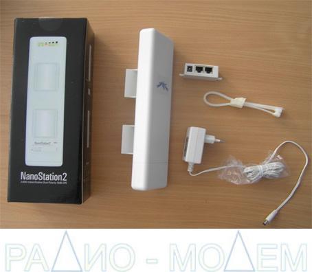 Точка доступа WiFi  NanoStation2