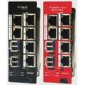 Управляемые SNMP волоконно-оптические конвертеры   iMcV-E1-Mux/4 и IE-iMcV-E1-Mux/4